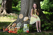 26-5-2015: REPRO FREE PHOTO:  Roisin Canning, (9) whose parents Bernie and Graham of Blast and Wilde, Slane County Meath were Supreme Champions for their butter in 2014 pictured at the launch of the Blas na h-Eireann / Irish Food Awards which will take place in Dingle in October. <br /> The Irish Food Awards will see more than 2,000 Irish products blind tasted and scored by over 350 judges who will select the Gold, Silver and Bronze winners in over 90 produce categories. Online entries close on 17th June 2015 and can be completed on www.irishfoodawards.com.<br /> Photo by Don MacMonagle<br /> <br /> Press release:<br /> Over 90% of Irish Food Producers Experiencing Growth<br /> - but cash flow and financial support among major <br /> <br /> A new survey of more than 2,000 Irish food producers across the island of Ireland shows that while they are experiencing substantial growth, issues such as 'cash flow', 'distribution' and 'access to financial advice' are major challenges, particularly for producers ready to develop into national and international markets. These survey results were announced at the launch of the 8th annual Blas na hEireann, The Irish Food Awards by the Minister for Agriculture, Food and the Marine, Simon Coveney on Tuesday 26th May 2015. This year's Irish Food Awards will see more than 2,000 Irish products blind tasted and scored by over 350 judges who will select the Gold, Silver and Bronze winners in over 90 produce categories. The Awards carry with them a huge amount of prestige and winning produce is used as a quality benchmark for Irish products amongst national and international retailers, buyers and distributors alike.  Online entries close on 17th June 2015 and can be completed on www.irishfoodawards.com.  The 'Producer Power Survey' showed that over 90% of producers across the island have seen their operations grow in the past year and a massive 95% feel confident that their businesses will continue to flourish throughout 2015.  Furthermo