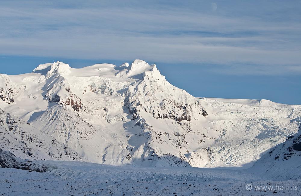 The glacier Svinafellsjokull, Iceland - Svínafellsjökull