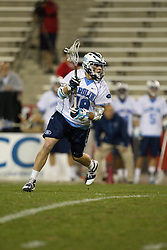 23 April 2010: North Carolina Tar Heels during a 13-5 loss to the Maryland Terrapins in the first round of the ACC Tournament at Byrd Stadium in College Park, MD.