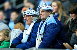 Coventry City's fans in the stands during the match