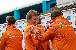 Team Netherlands, Van ASten Leopold, Pals Johnny, Van der Schans Wout Jan <br /> Furusiyya FEI Nations Cup presented by Longines <br /> La Baule 2016<br /> © Hippo Foto - Dirk Caremans<br /> 13/05/16