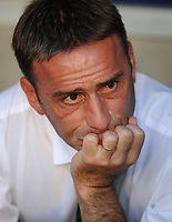 20091106: Paulo Bento resigns as Sporting Lisbon coach, after five seasons leading the Lisboa 'Lions'. ***FILE PHOTO*** 20090818: LISBON, PORTUGAL - Sporting Lisbon vs Fiorentina: UEFA Champions League 2009/2010 - Play-Offs. In picture: Paulo Bento (Sporting). PHOTO: Alvaro Isidoro/CITYFILES