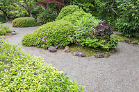 Jomyoji Zen Garden - Jomyoji, a Rinzai Zen Buddhist temple in Kamakura, was founded by the influential Ashikaga clan.  Jomyo-ji's main hall sits at the end of a garden and houses a statue of  Buddha. Jomyoji also has a restored tea house Kisen-an where visitors can enjoy the view of the zen karesansui garden.  For its role in Japanese history, Jomyo-ji is named a National Historical Site by the government of Japan.