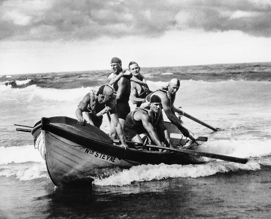 Bondi Beach, Sydney, Australia, 1930