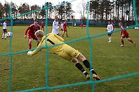 Fotball , 22. october 2016 , Eliteserien , PostNord-ligaen avd 3 , Vidar - Stord<br /> Martin Håland fra Vidar Skårer mål<br /> Foto: Andrew Halseid Budd , Digitalsport