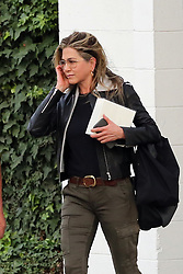 Jennifer Aniston stuns as she leaves an L.A salon. 05 Apr 2018 Pictured: Jennifer Aniston. Photo credit: Rachpoot/MEGA TheMegaAgency.com +1 888 505 6342