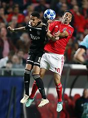 SL Benfica and Ajax Amsterdam - 8 Nov 2018