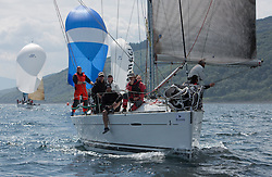 Day three of the Silvers Marine Scottish Series 2016, the largest sailing event in Scotland organised by the  Clyde Cruising Club<br /> Racing on Loch Fyne from 27th-30th May 2016<br /> <br /> GBR447R, Local Hero, Geoff & Norman Howison, RGYC, Beneteau 44.7<br /> <br /> Credit : Marc Turner / CCC<br /> For further information contact<br /> Iain Hurrel<br /> Mobile : 07766 116451<br /> Email : info@marine.blast.com<br /> <br /> For a full list of Silvers Marine Scottish Series sponsors visit http://www.clyde.org/scottish-series/sponsors/