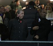 England manager Roy Hodgson looks on<br /> <br /> - Barclays Premier League - Queens Park Rangers vs Manchester City- Loftus Road - London - England - 8th November 2014  - Picture David Klein/Sportimage