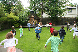 Embassy Montessori School.<br /> <br /> Photographed today Monday 25nd May 2009 in the Embassy Montessori School no5 Clyde road Ballsbridge Dublin 4.<br /> <br /> Commissioned by The Embassy Montessori School.