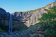 Skaftafell National Park, Iceland Svartifoss waterfall
