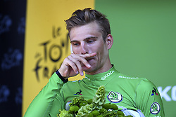 July 18, 2017 - Romans-Sur-Isere, France - ROMANS-SUR-ISERE, FRANCE - JULY 18 : KITTEL Marcel of Quick-Step Floors  during stage 16 of the 104th edition of the 2017 Tour de France cycling race, a stage of 165 kms between Le Puy-en-Velay and Romans-Sur-Isere on July 18, 2017 in Romans-Sur-Isere, France, 18/07/2017 (Credit Image: © Panoramic via ZUMA Press)