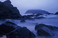 Point Sur Light Station through the fog