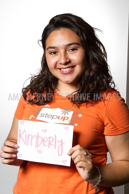 Kimberly, Step Up Teen Honoree