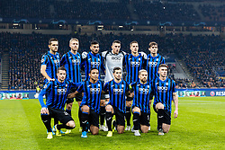November 26, 2019, Milano, Italy: atalanta teamduring Tournament round - Atalanta vs Dinamo Zagreb , Soccer Champions League Men Championship in Milano, Italy, November 26 2019 - LPS/Francesco Scaccianoce (Credit Image: © Francesco Scaccianoce/LPS via ZUMA Wire)