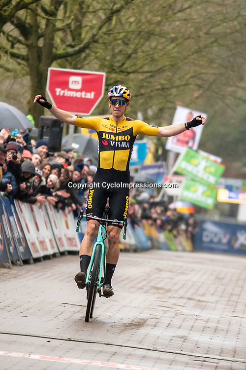2020-02-07 Cycling: dvv verzekeringen trofee: Lille: Wout van Aert wins on his home soil