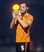 Football - 2013 / 2014 League One - Stevenage vs. Wolverhampton Wanderers<br /> <br /> Wolves' Richard Stearman at the Lamex Stadium.<br /> <br /> COLORSPORT/ANDREW COWIE