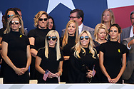 Wifes of Usa players during the Opening Ceremony of Ryder Cup 2018, at Golf National in Saint-Quentin-en-Yvelines, France, September 27, 2018 - Photo Philippe Millereau / KMSP / ProSportsImages / DPPI