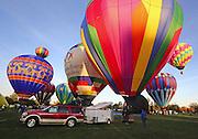 Balloonists from Utah, Idaho, Texas, Nevada and Washington took part in the Balloon Stampede in Walla Walla Washington.  <br /> <br /> Greg Gilbert / The Seattle Times