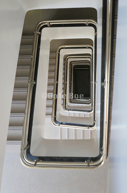 view of stairwell from the top