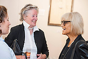 Barbara Hulanicki (BIBA) attends the Private view for Drawing on Style: Four Decades of Elegance - an exhibition of original vintage fashion illustrations from Post War 1940s through to the 1970s organized by GRAY M.C.A, leading specialists in Fashion Illustration.  It includes more than 40 original works by some of the leading illustrators of the time from Britain, Europe and America including René Bouché, René Gruau and Carl Erickson for publications including Vogue as well as advertising work for L'Oreal and other famous names in Haute Couture.  There are also a selection of original designs by designers including Dior, Biba & Zandra Rhodes. Coinciding with London Fashion Week, the exhibition runs from Thursday 11th - Tuesday 16th September 2014 with prices from £300-£10,000. Gallery 8, St James's, London. 10 Sept 2014. Guy Bell, 07771 786236, guy@gbphotos.com