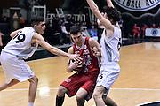 DESCRIZIONE : Roma Adidas Next Generation Tournament 2015 Armani Junior Milano Unipol Banca Bologna<br /> GIOCATORE : Tommaso Balasso<br /> CATEGORIA : penetrazione<br /> SQUADRA : Armani Junior Milano<br /> EVENTO : Adidas Next Generation Tournament 2015<br /> GARA : Armani Junior Milano Unipol Banca Bologna<br /> DATA : 29/12/2015<br /> SPORT : Pallacanestro<br /> AUTORE : Agenzia Ciamillo-Castoria/GiulioCiamillo<br /> Galleria : Adidas Next Generation Tournament 2015<br /> Fotonotizia : Roma Adidas Next Generation Tournament 2015 Armani Junior Milano Unipol Banca Bologna<br /> Predefinita :