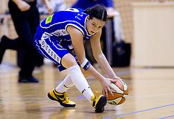 Nika Baric of Celje at finals match of Slovenian 1st Women league between KK Hit Kranjska Gora and ZKK Merkur Celje, on May 14, 2009, in Arena Vitranc, Kranjska Gora, Slovenia. Merkur Celje won the third time and became Slovenian National Champion. (Photo by Vid Ponikvar / Sportida)