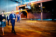 Koningspaar bezoekt scheepswerf MV Werften