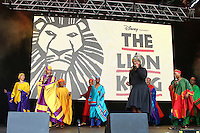 West End Live 2016; Trafalgar Square; London UK; 18-19 June 2016; Photo by Brett D. Cove; The Lion King; Nicholas Afoa