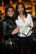 """30 March 2010-New York, NY- l to r: Patty Dorsey and Patricia Lewis at The Foundation for Social Change Announcement of Grammy Award-Winning Vocalist Patti Austin as The National Spokesperson for The Foundation for Social Change held at Longchamp on March 30, 2010 in Soho, New York City..The Foundation for Social Change mobilizes businesses to implement initiatives that benefit both their bottom line and the economic growth of their surrounding communities. We are a not-for-profit corporation focused primarily on U.S. issues. Our work is based on the principle: ?""""Do good to get good."""""""