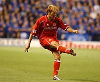 Gaizaka Mendieta (Middlesbrough) Leicester City v Middlesbrough, FA Premiership, 26/08/2003. Credit: Colorsport / Matthew Impey DIGITAL FILE ONLY