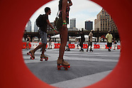 High Line Skating Rink Opening - Selected Photos