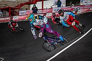 2021 UCI BMXSX World Cup<br /> Round 4 at Bogota (Colombia)<br /> Qualification Moto<br /> ^mu#632 ZAPATA GIRALDO, Samuel (COL, MU) <br /> ^mu#649 LANKFORD, Rayne (USA, MU)