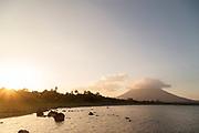 Concepcion volcano on Ometepe Island, Nicaragua