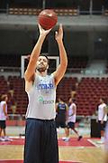 Danzica - Polonia 03 Agosto 2012 - Nazionale Italia Maschile Allenamento - <br /> Nella Foto : ANGELO GIGLI<br /> Foto Ciamillo