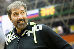 Veselin Vujovic, head coach of Slovenia during friendly handball match between National Teams of Slovenia and F.Y.R. of Macedonia before EHF EURO 2016 in Poland on January 5, 2016 in Arena Zlatorog, Celje, Slovenia. Photo by Urban Urbanc / Sportida