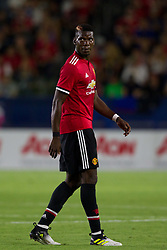 July 15, 2017 - Carson, California, U.S - Manchester United M Paul Pogba (6) during the summer friendly between Manchester United and the Los Angeles Galaxy at the StubHub Center. (Credit Image: © Brandon Parry via ZUMA Wire)