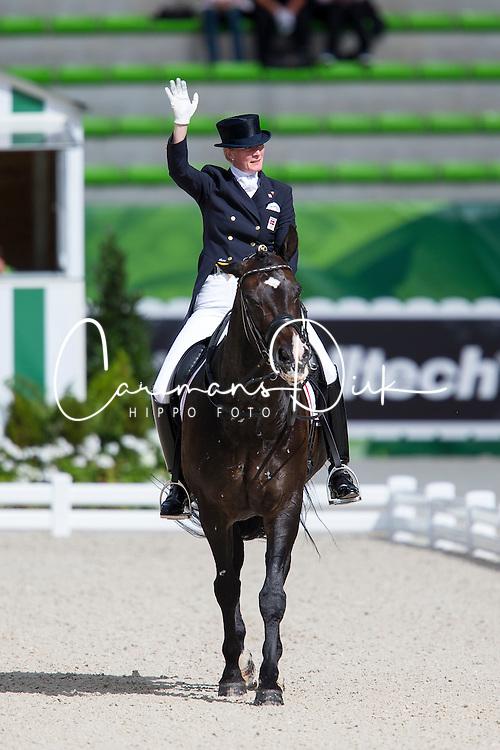 Nathalie Zu Sayn Wittgenstein, (DEN), Digby - Grand Prix Team Competition Dressage - Alltech FEI World Equestrian Games™ 2014 - Normandy, France.<br /> © Hippo Foto Team - Leanjo de Koster<br /> 25/06/14