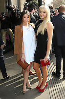 Brooke Vincent, Katie McGlynn, The TRIC Awards, Grosvenor House Hotel, London UK, 10 March 2015, Photo by Richard Goldschmidt