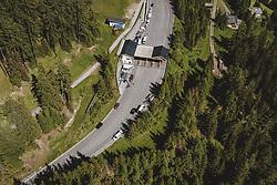 THEMENBILD - die Mautstation auf der Kärntner Seite . Die Hochalpenstrasse verbindet die beiden Bundeslaender Salzburg und Kaernten und ist als Erlebnisstrasse vorrangig von touristischer Bedeutung, aufgenommen am 07. Juli 2020 in Heiligenblut, Österreich // the toll station on the Carinthian side . The High Alpine Road connects the two provinces of Salzburg and Carinthia and is as an adventure road priority of tourist interest, Heiligenblut., Austria on 2020/07/07. EXPA Pictures © 2020, PhotoCredit: EXPA/ JFK