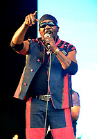 Toots Hibbert  has died age 77 photos if Toots & The Maytals  at The Big Feastival at Alex James' Farm  August, 2016 in Kingham, Oxfordshire
