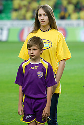 Maja Zugec, 12th player of NK Domzale during football match between NK Domzale and NK Maribor in final match of Hervis Cup, on May 25, 2011 in SRC Stozice, Ljubljana, Slovenia. Domzale defeated Maribor and became Slovenian Cup Champion 2011. (Photo By Vid Ponikvar / Sportida.com)