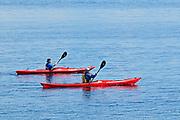 Kayaking on <br /><br />Quebec<br />Canada