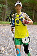 Rosendale, New York - Dylan Armajani nears the finish line in the Shawangunk Ridge Trail Run/Hike 32-mile race on Sept. 20, 2014. Friedman finished third in six hours, 44 minutes.