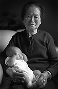 Caption: Smile, Mom. A Mother's Day card from The Star's  photographers. Mother's Day album. The Kansas City Star's  photographers turn their cameras toward home to capture their  mothers and grandmothers on film. CUTLINE WITH PHOTO. The  photographer's grandmother Tzu-Chin-Yang and 2-month-old cousin,  Andrew Yang. CUTLINE My grandmother Tzu-Chin-Yang came to the  United States with me and my family in 1978. Tzu-Chin-Yang, who  was born in China, is now 81 years olf and lives with my family  in North Carolina. I grew up living with two cousins, my brother,  my mother and father and my grandmother and grandfather. There  were times when my aunt and uncle and their four kids lived with  us in our three-bedroom home. My grandmother and grandfather took  care of the children while our parents worked. My parents now own  a Chinses restaurant, and what I enjoy most about coming home is  the egg rolls my grandmother makes for me.   Photographer: WENDY  YANG  Credit: THE STAR  Date: 19980510  Category: SM  Keyword: HOLIDAY  Keyword: MOTHER  Keyword: PORTRAIT  Keyword: INFANT  Keyword: GRANDMOTHER
