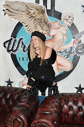 JESSICA HORWELL at the opening party of MODE nightclub, 12 Acklam Road, London on 4th April 2014.