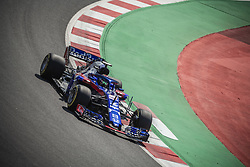 May 11, 2018 - Barcelona, Catalonia, Spain - BRENDON HARTLEY (NZL) drives during the first practice session of the Spanish GP at Circuit de Catalunya in his Toro Rosso STR13 (Credit Image: © Matthias Oesterle via ZUMA Wire)