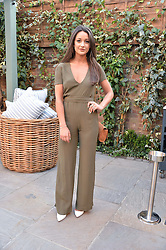 PICTURE SHOWS:-ROXIE NAFOUSI.<br /> Tuesday 14th April 2015 saw a host of London influencers and VIP faces gather together to celebrate the launch of The Ivy Chelsea Garden. Live entertainment was provided by jazz-trio The Blind Tigers, whilst guests enjoyed Moët & Chandon Champagne, alongside a series of delicious canapés created by the restaurant's Executive Chef, Sean Burbidge.<br /> The evening showcased The Ivy Chelsea Garden to two hundred VIPs and Chelsea<br /> residents, inviting guests to preview the restaurant and gardens which marry<br /> approachable sophistication and familiar luxury with an underlying feeling of glamour and theatre. The Ivy Chelsea Garden's interiors have been designed by Martin Brudnizki Design Studio, and cleverly combine vintage with luxury, resulting in a space that is both alluring and down-to-earth.