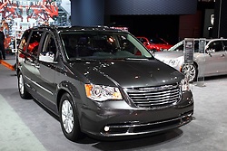 12 February 2015:  2015 CHRYSLER TOWN & COUNTRY: Big news for the 2015 Chrysler Town & Country minivan is the two new models that joined the minivan lineup: Town & Country LX and the Town & Country Limited Platinum. With the additional models, the Chrysler Town & Country is now available in the United States in six different models: the Chrysler Town & Country LX, Town & Country Touring, Town & Country S, Town & Country Touring-L, Town & Country Limited and Town & Country Limited Platinum. Among the new available items are navigation and power third-row seats as standard equipment, industry-exclusive Blu-ray player available with HDMI input for video game systems, Stow 'n Go seating and rear backup camera. All models provide customers exquisite innovation, abundant standard safety features and the versatility they need, all at a surprising value. Known for cargo carrying capacity, the T&C's seven-passenger cabin is available with one-touch Stow 'n Go seating and when middle and third row seats are down, there is a respectable 143.8 cubic feet of cargo carrying room. Industry-exclusive Blu-Ray player is available along with HDMI input for video game systems. The Town & Country models are equipped with a Pentastar 3.6-liter V-6 that provides best-in-class 283 horsepower with excellent fuel economy. Performance to the front wheels comes via a six-speed automatic transmission, and when equipped with the trailer-tow prep package, the Town and Country has a 3,600 pound towing capacity. There are eight exterior colors: Billet Silver Metallic Clear Coat, Brilliant Black Pearl Coat, Bright White Pearl Coat, Cashmere Pearl Coat, Deep Cherry Red Pearl Coat, Mocha Java Pearl Coat, True Blue Pearl Coat and Granite Crystal Metallic Coat. With seventy-eight minivan-first innovations and 13 million minivan sales later, the 2015 Chrysler Town & Country continues its appeals to generation X professionals with two or more kids in their household and baby boomers with no children at
