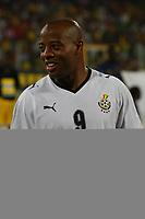 Photo: Steve Bond/Richard Lane Photography.<br />Ghana v Namibia. Africa Cup of Nations. 24/01/2008. Junior Agogo lines up